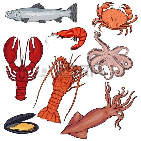 867 Seafood Industry Stock Vector Illustration And Royalty Free.