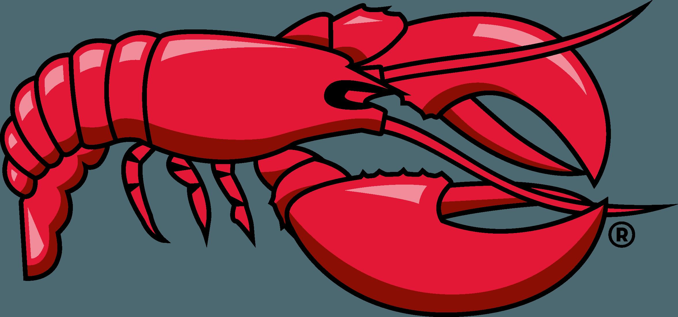 Red Lobster Logo Download Vector.