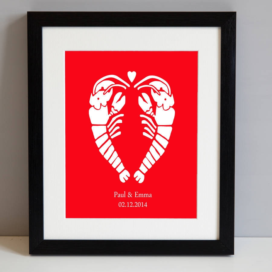 Lobster Love Clipart.