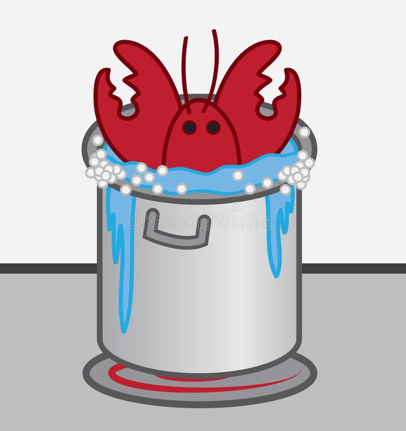 Lobster Pot Stock Illustrations.