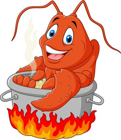 104 Lobster Pot Stock Vector Illustration And Royalty Free.