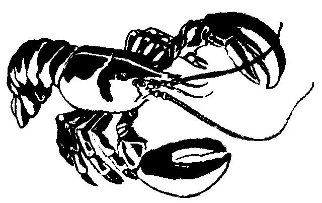 Lobsterman Clipart.