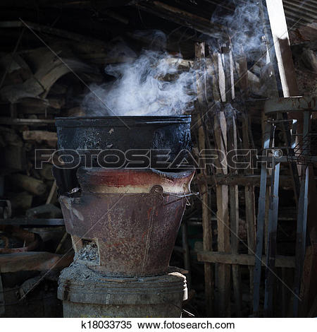 Stock Image of local kitchen k18033735.