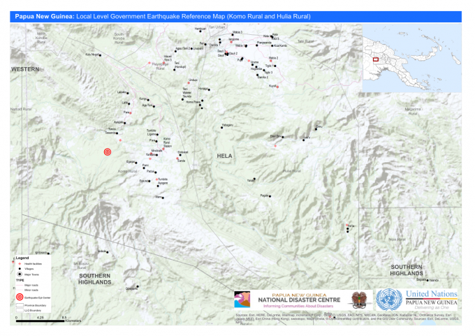 Papua New Guinea: Local Level Government Earthquake.