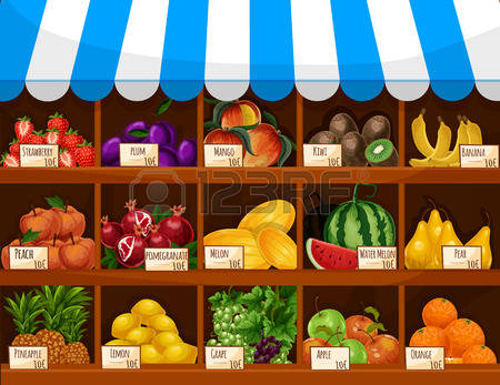27,339 Fruit Market Cliparts, Stock Vector And Royalty Free Fruit.
