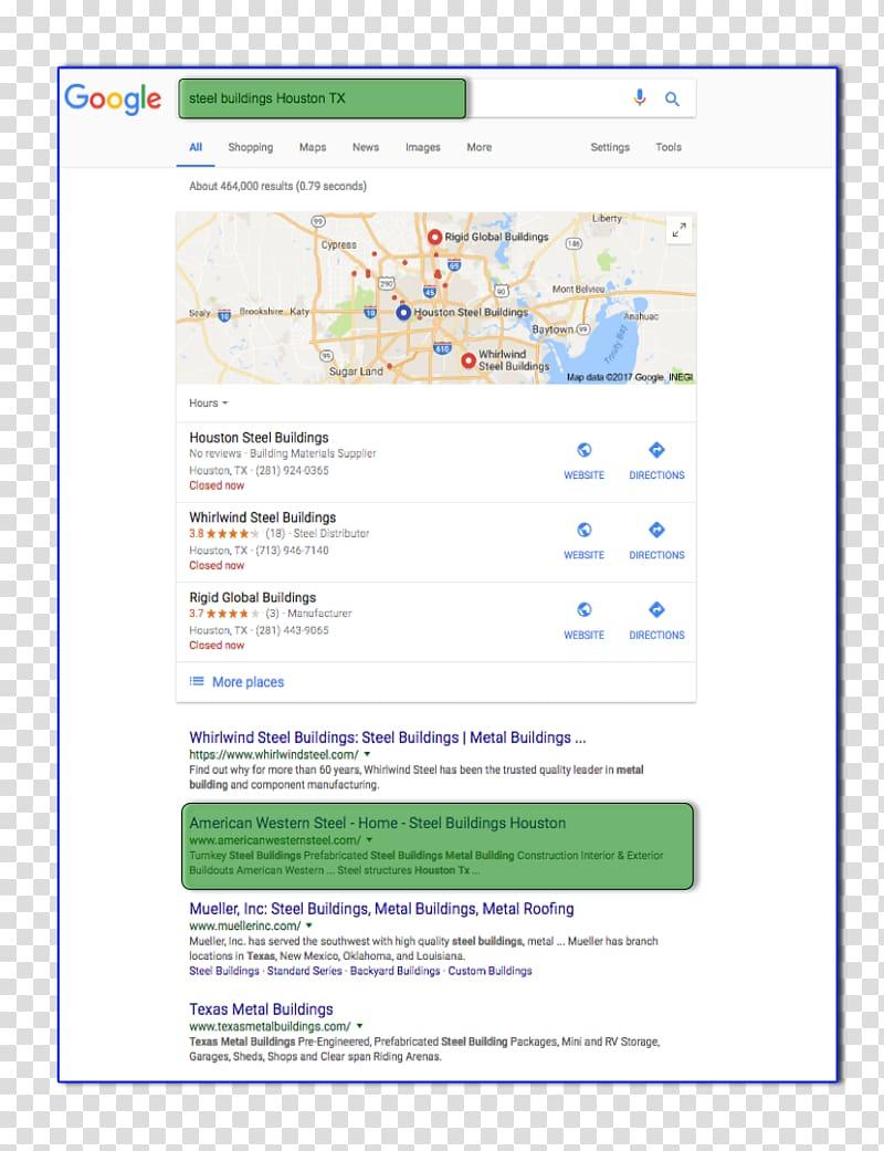 Local SEO Houston Rethink Local LLC Web page Computer.