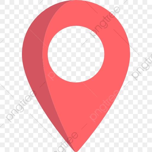 Localização De Vermelho, Mapa De, Localização De, O Símbolo.