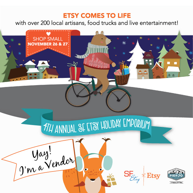 gather at the SF Etsy Team Holiday Emporium 11/26 & 27 — gather.