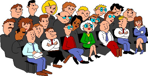 Clipart Of Church Gathering.
