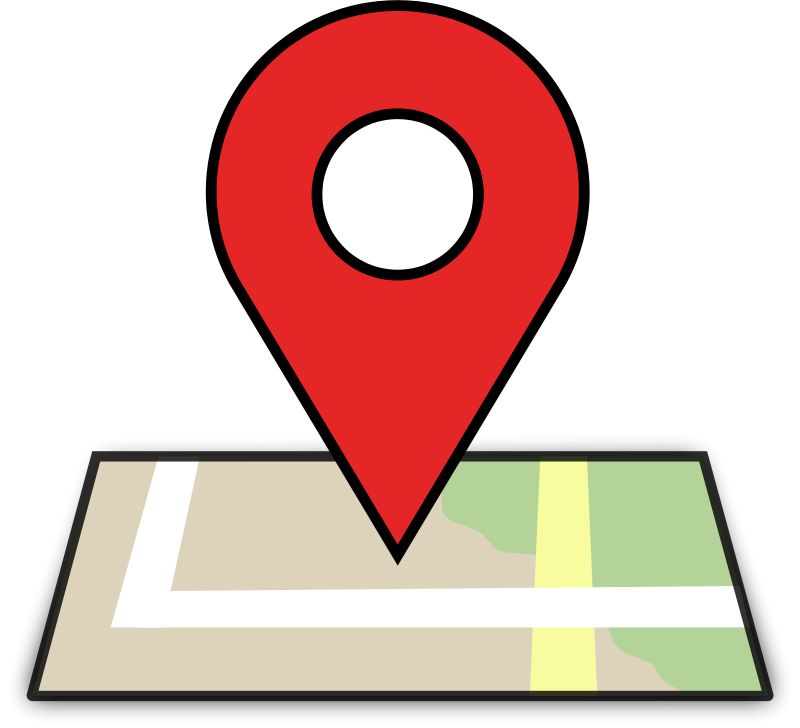 Free Clipart: Map Location.