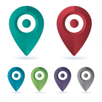 Location Vectors, Photos and PSD files.