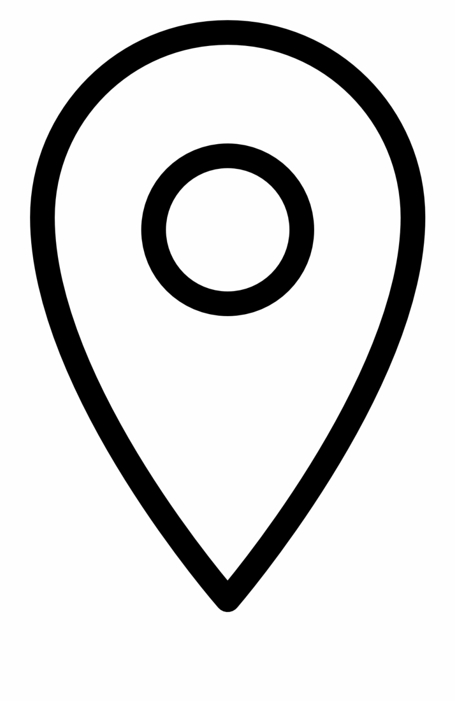 Location Icon Png White Free PNG Images & Clipart Download.