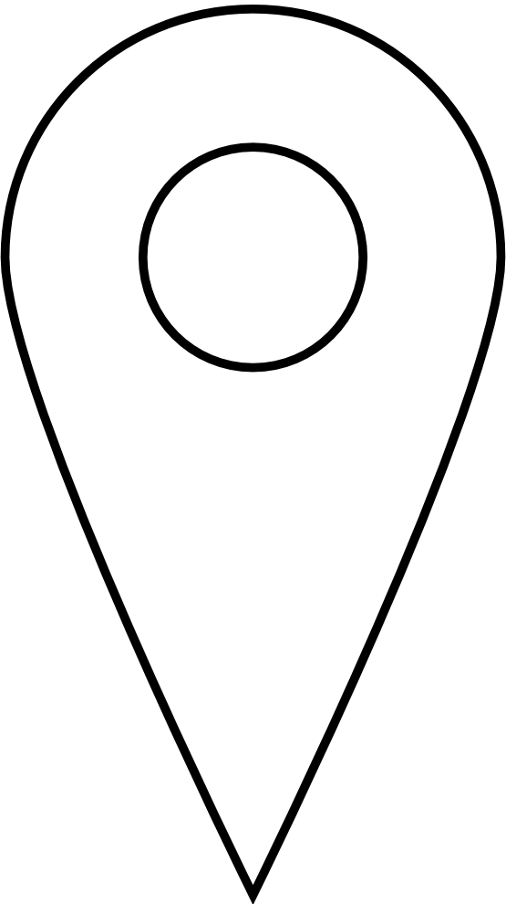 White Location Icon Png #288750.