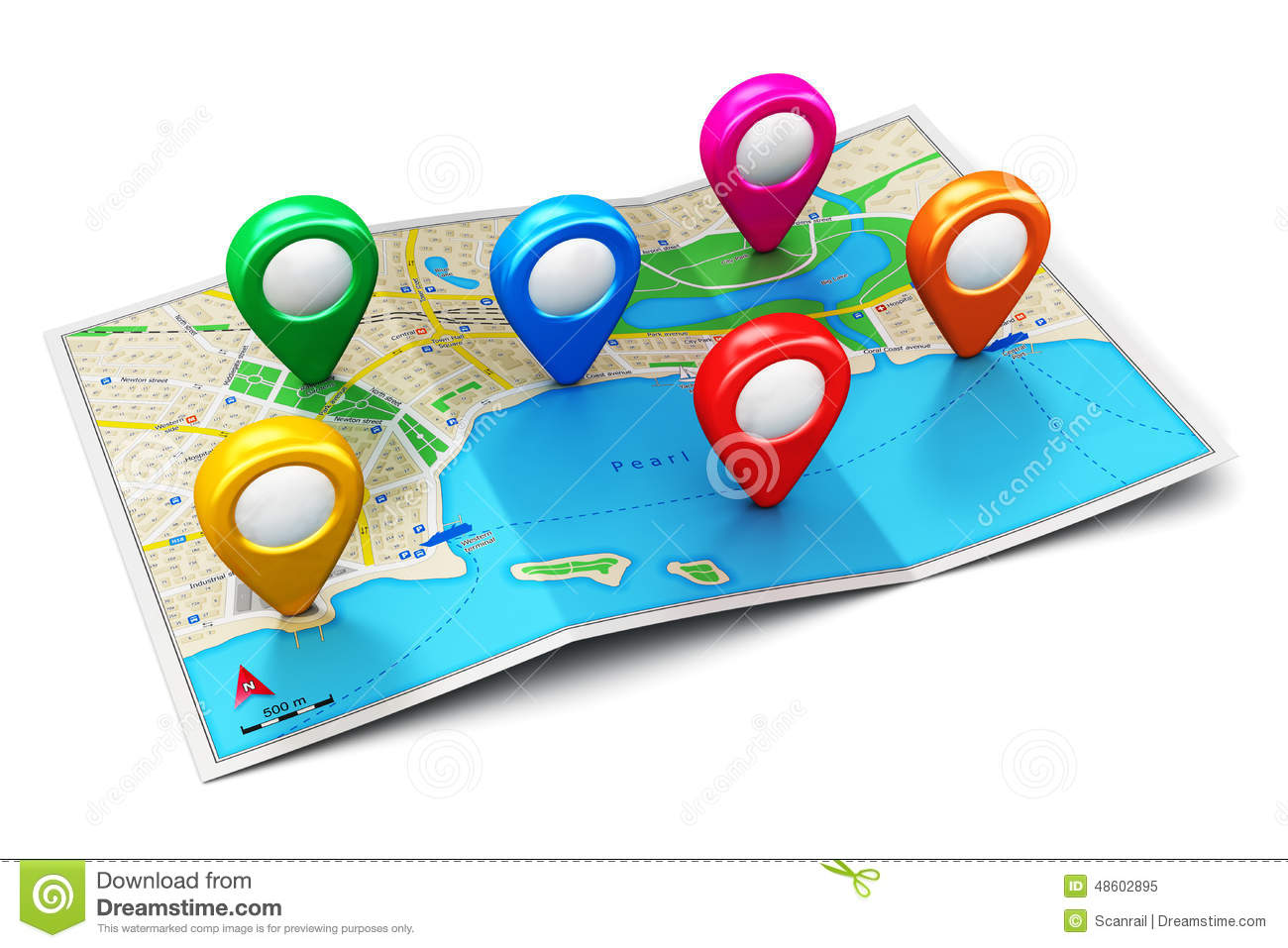 Location Map Clip Art.