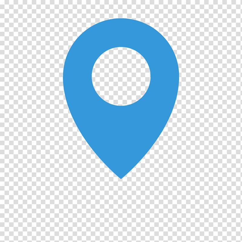 Blue location icon, Computer Icons Computer Software.
