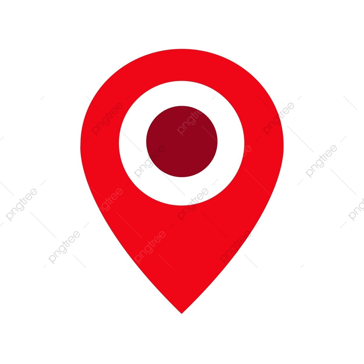 Pin Location Icon, Location, Pin, Icon PNG and Vector with.