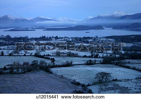 Stock Photography of Scotland, West Dumbartonshire, Gartocharn.