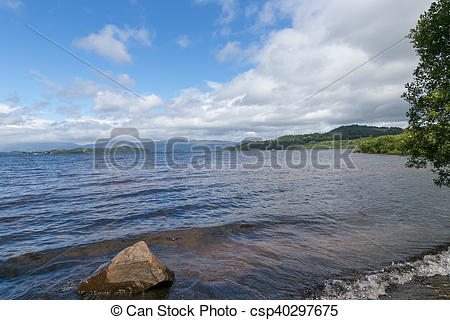 Picture of View of Loch Lomond from the shore.