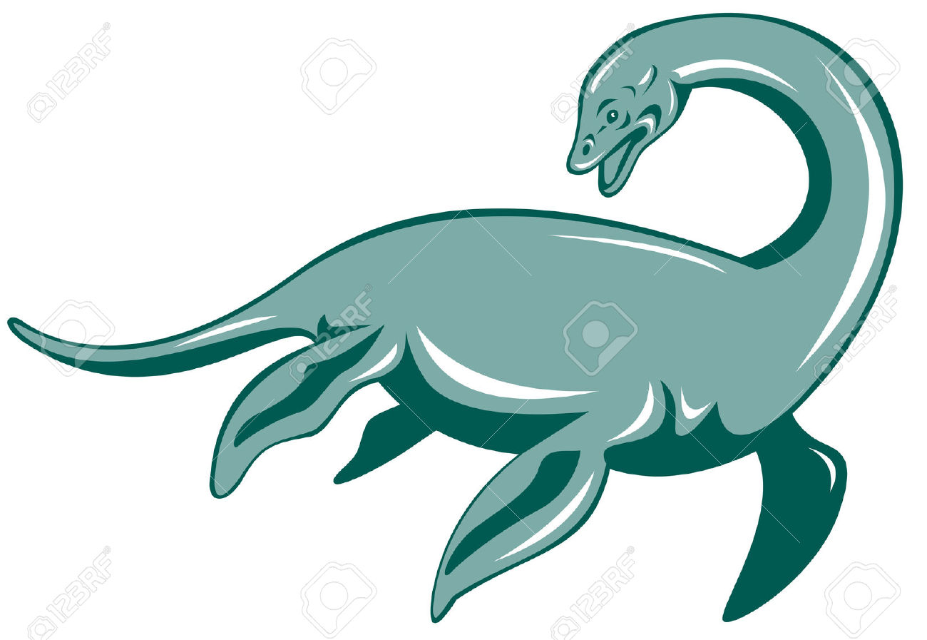 Loch Ness Monster Royalty Free Cliparts, Vectors, And Stock.