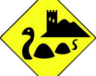 Loch Ness Monster Clip Art.