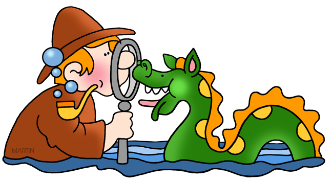 Free Mythical Beings and Creatures Clip Art by Phillip Martin.
