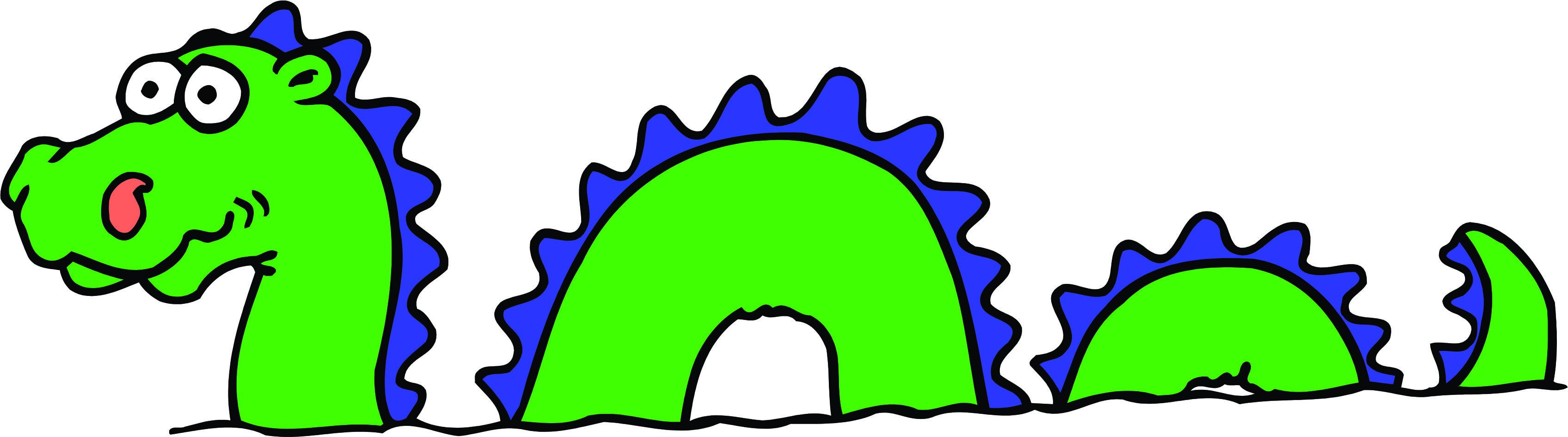 Loch ness clipart #13