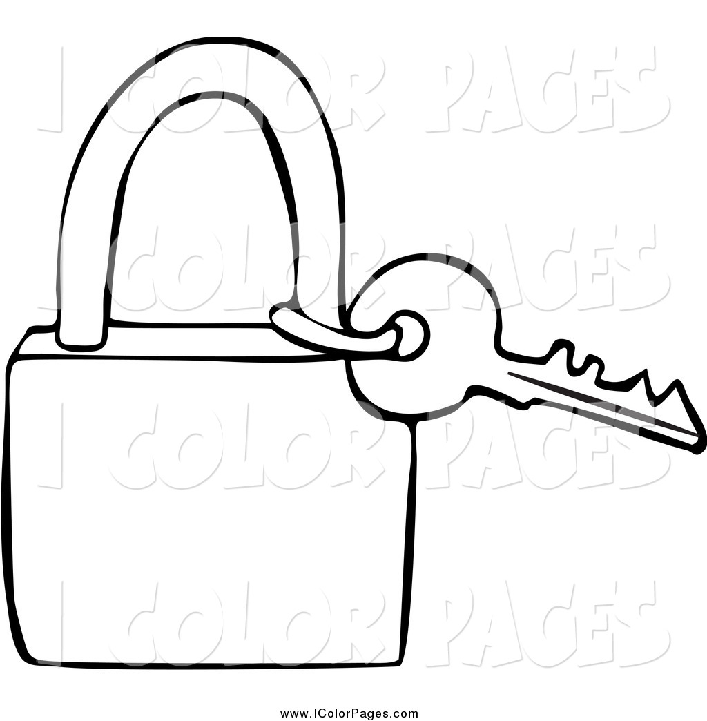 Key Clipart Black And White.