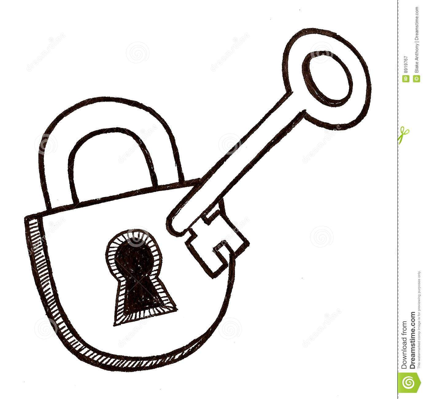 Lock and key clipart black and white 3 » Clipart Portal.