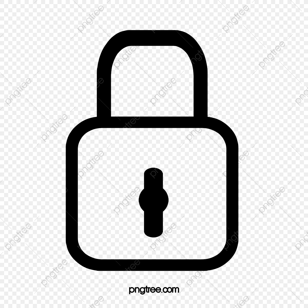 Lock, Lock Clipart, Lock Material PNG Transparent Clipart.