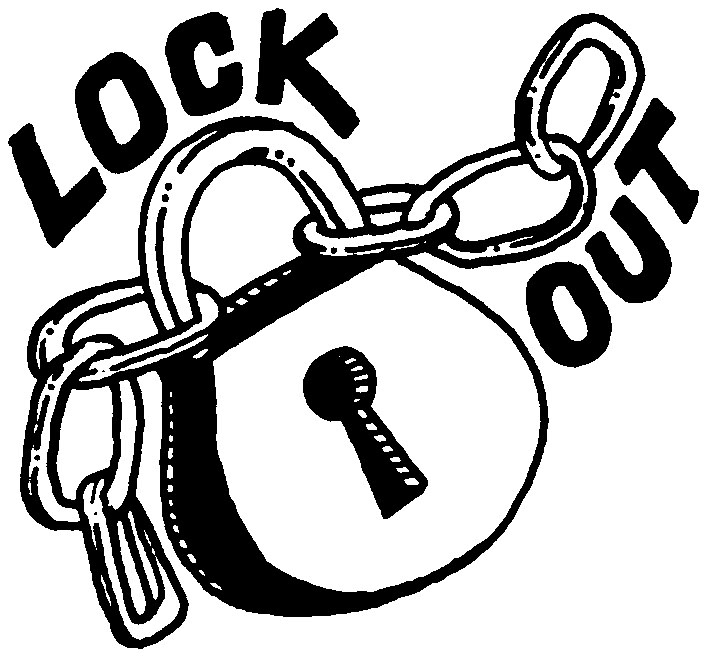 lockout clipart