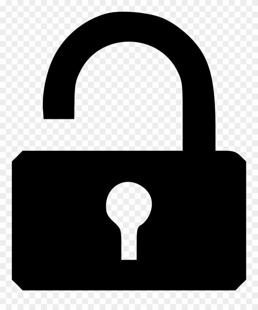Lock Clipart Broken Lock.