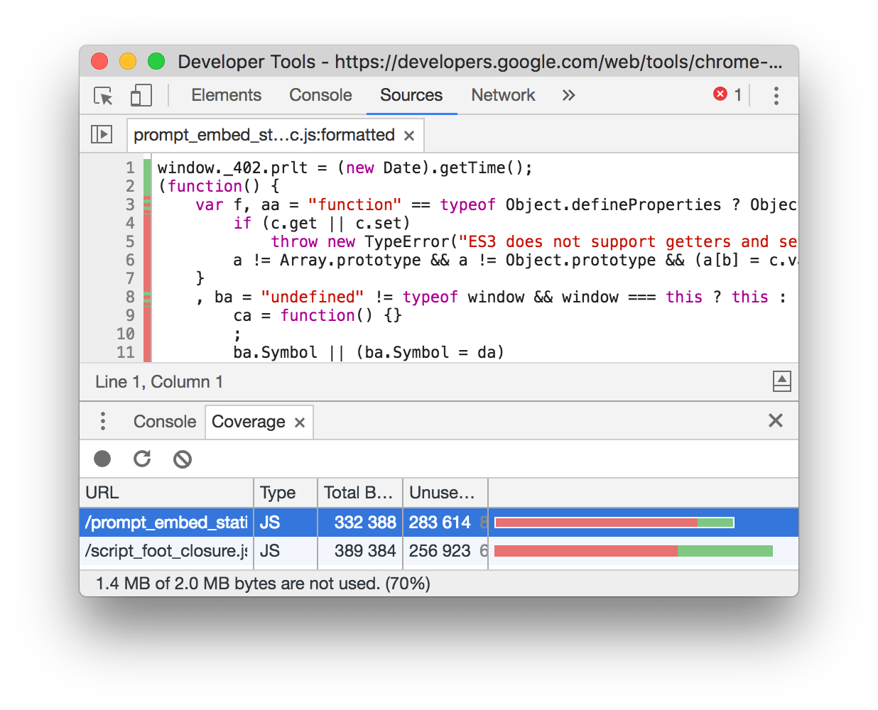 What's New In DevTools (Chrome 59).