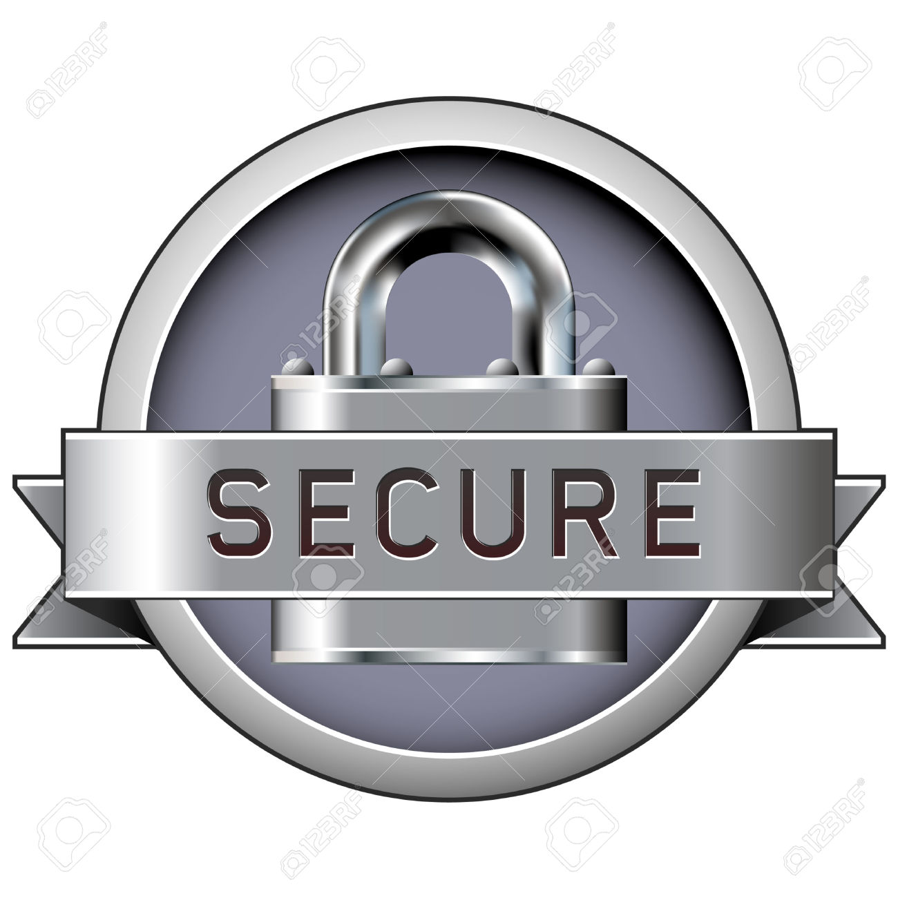 Secured clipart.