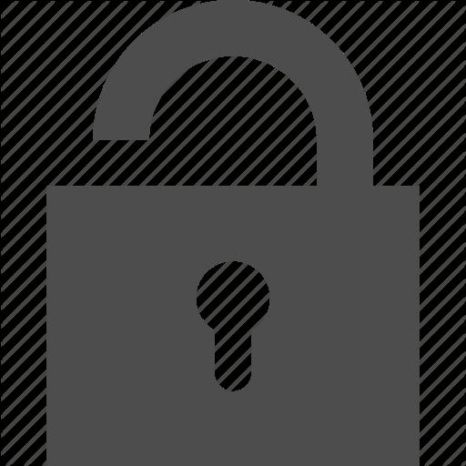 Lock Icon clipart.