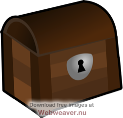 Lock Box Clipart.