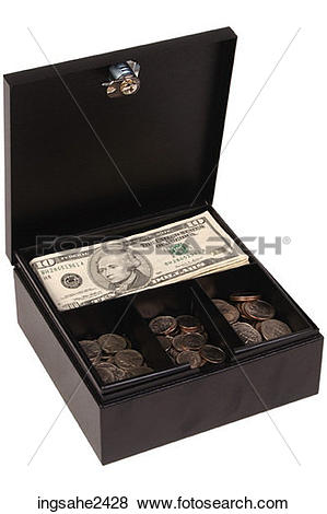 Pictures of Money in lockbox ingsahe2428.