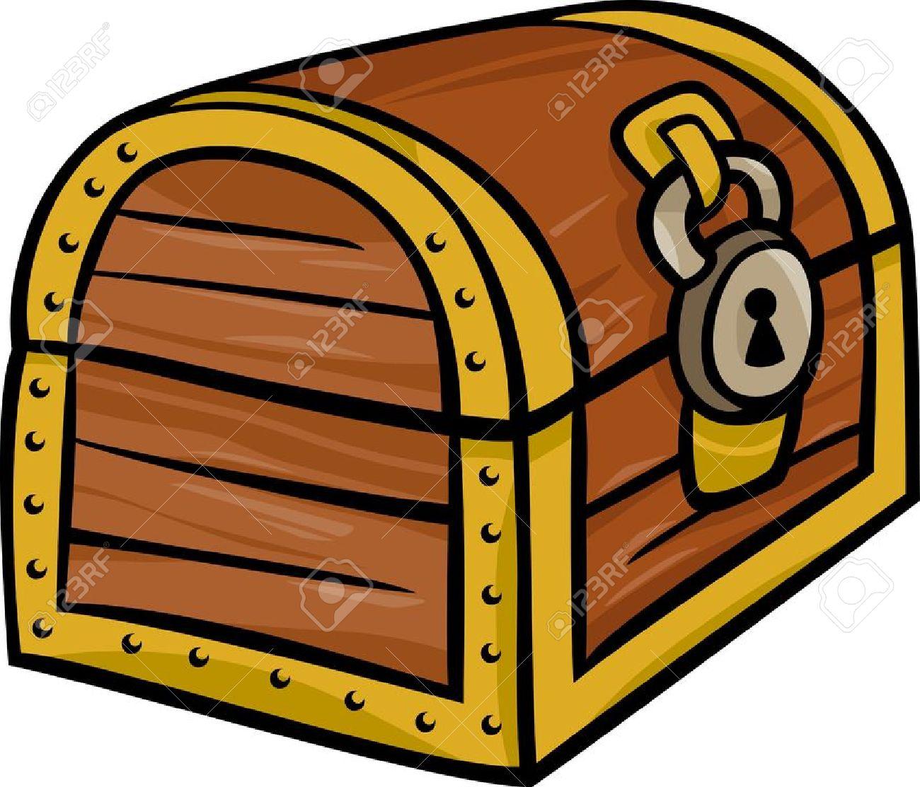 Lock box clipart.