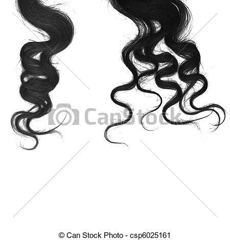 Clipart of Curl hair.