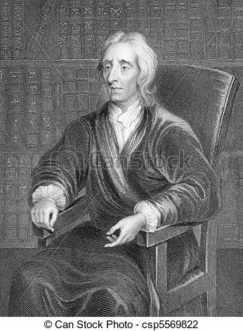 Stock Photo of John Locke (1632.