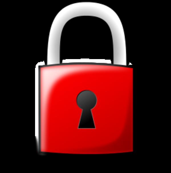 Locked Lock Clip Art.