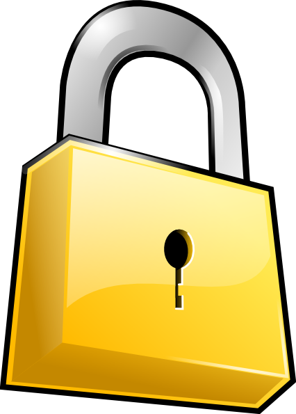 Church Lock In Clipart.