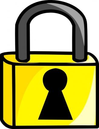 Lock clip art.