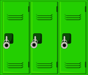 Locker Clipart.