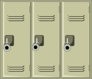 Locker Clipart.