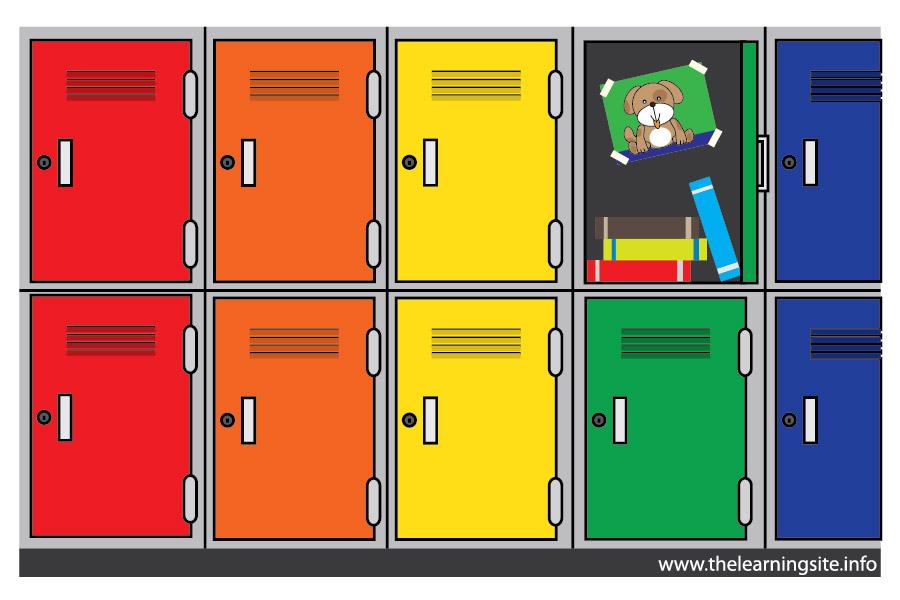 Locker Clipart & Locker Clip Art Images.