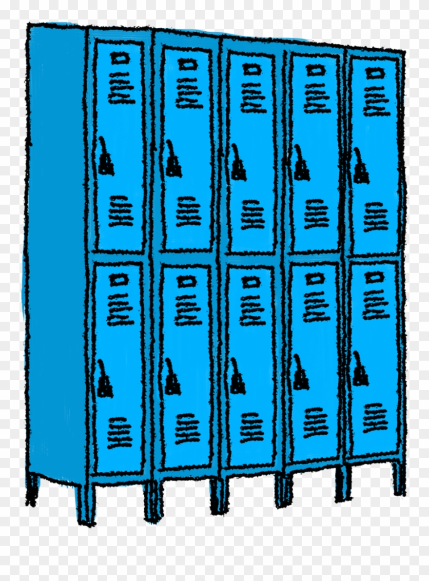 Open School Locker Clip Art Locker Clipart.