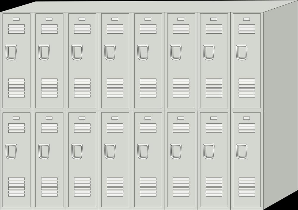 Lockers Clip Art Gallery, Locker Free Clipart.