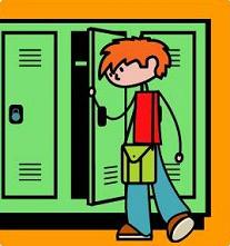 Free School Locker Clipart.