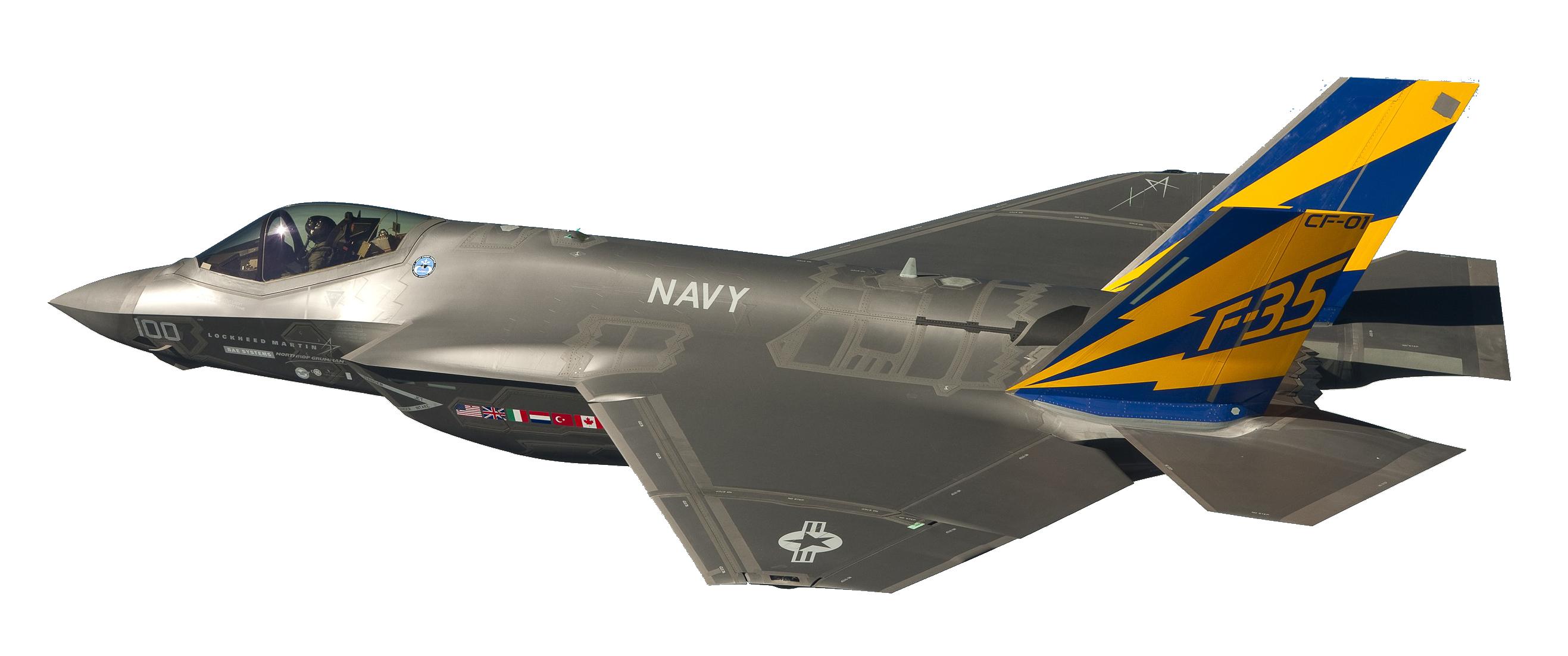 Lockheed Martin jet plane PNG Clipart.