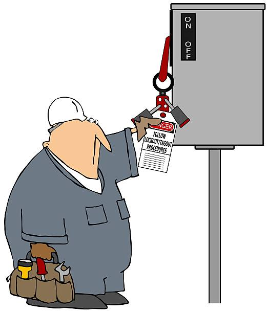 Lockout tagout clipart 3 » Clipart Station.